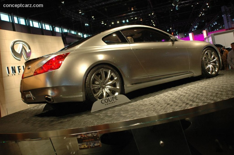 2006 Infiniti Coupe Concept Image Photo 9 Of 31