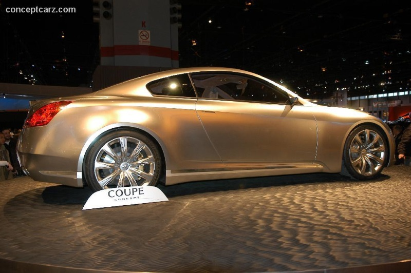 2006 Infiniti Coupe Concept Image Photo 12 Of 31