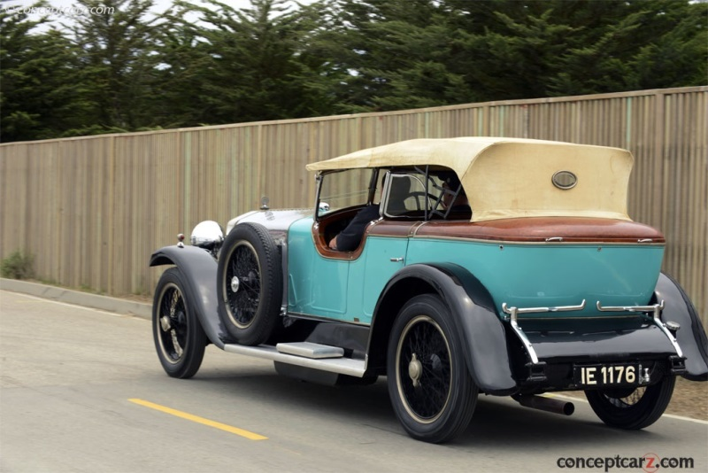 1927 isotta fraschini tipo 8a chassis information