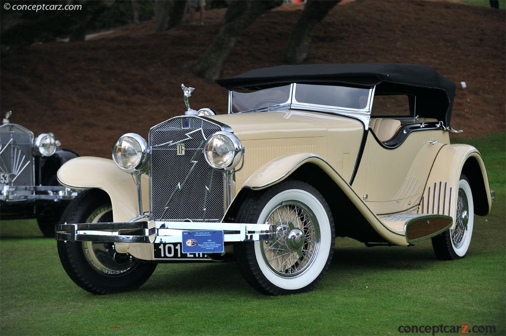 1933 Isotta Fraschini Tipo 8A