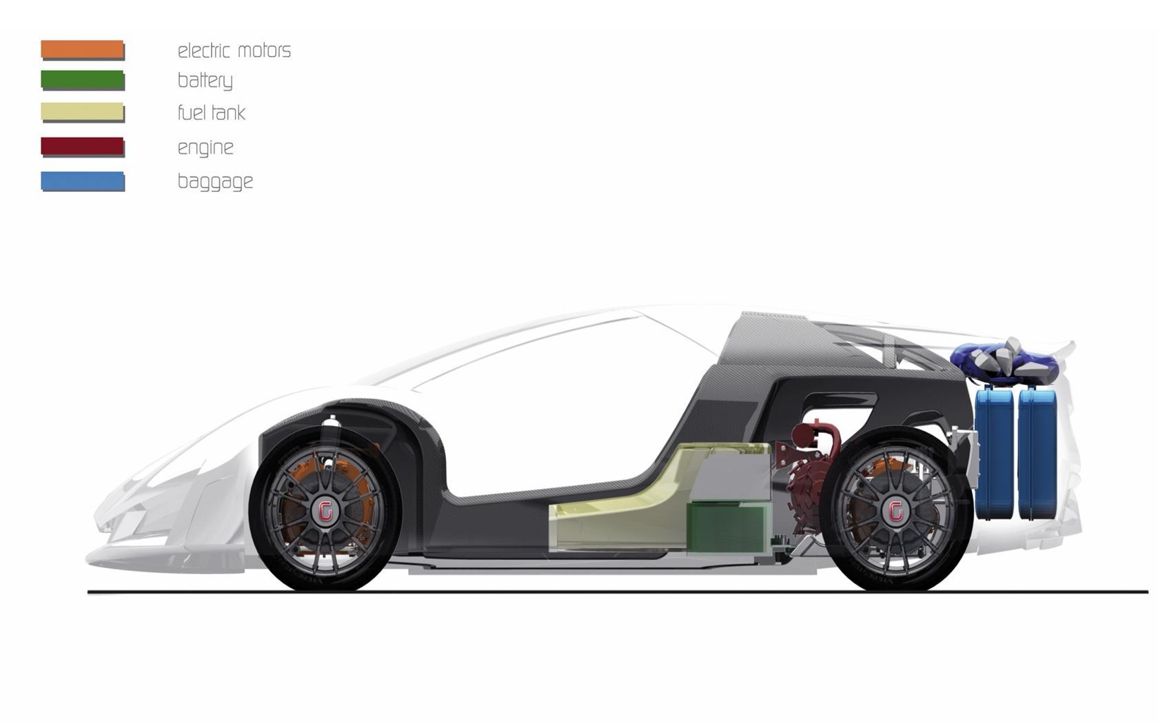 2009 Italdesign Frazer-Nash Namir Concept