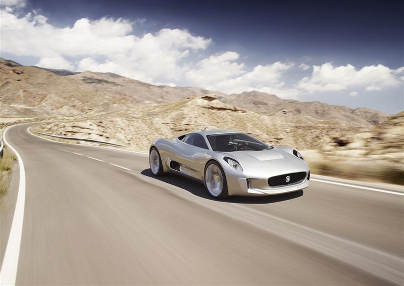 2010 Jaguar C-X75 Concept