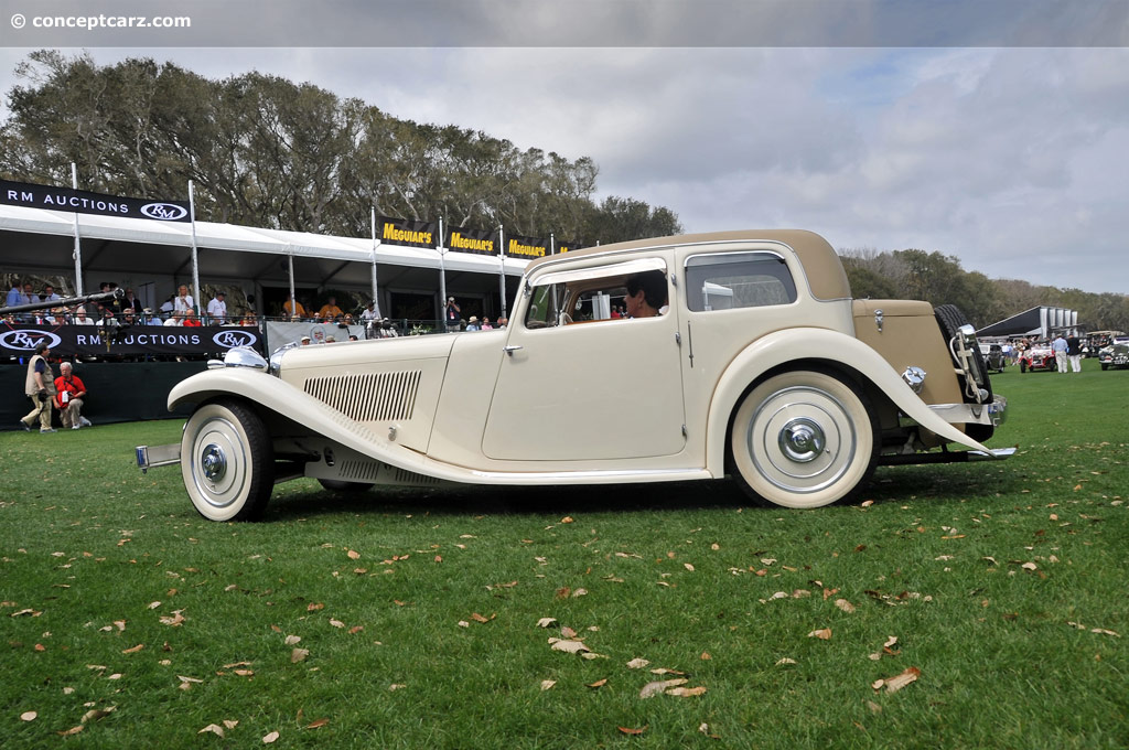 Auction Results and Sales Data for 1934 SS Cars SS1