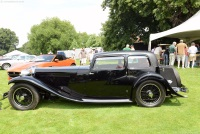 1934 Jaguar SS1.  Chassis number 247396