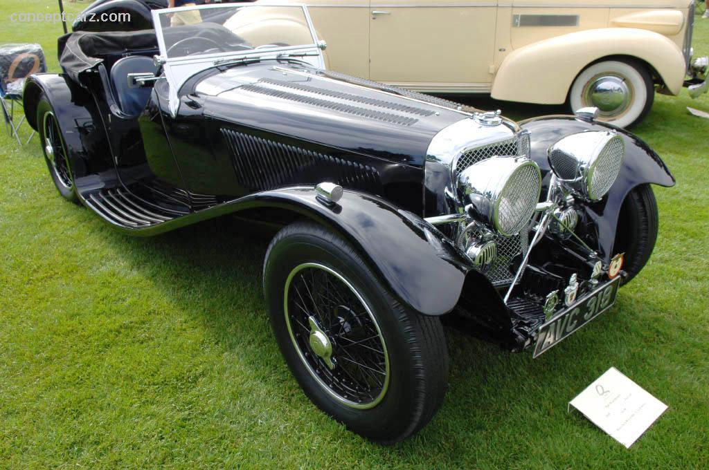 1935 SS Cars SS90 | conceptcarz.com