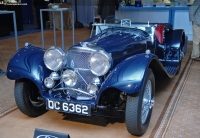 1938 Jaguar SS 100.  Chassis number 39032