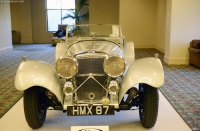 1938 Jaguar SS 100.  Chassis number 39039