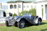 1938 Jaguar SS 100.  Chassis number 39016