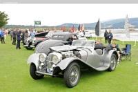 1939 Jaguar SS 100 image.
