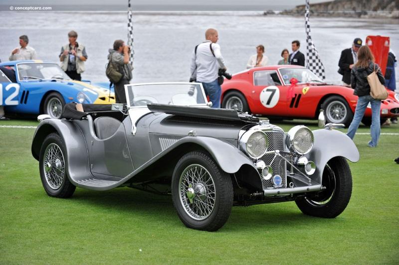 1939 SS Cars SS 100