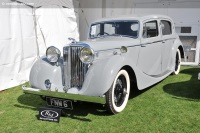 1947 Jaguar Mark IV.  Chassis number 412587