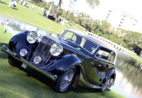 1947 Jaguar Mark IV.  Chassis number 510455