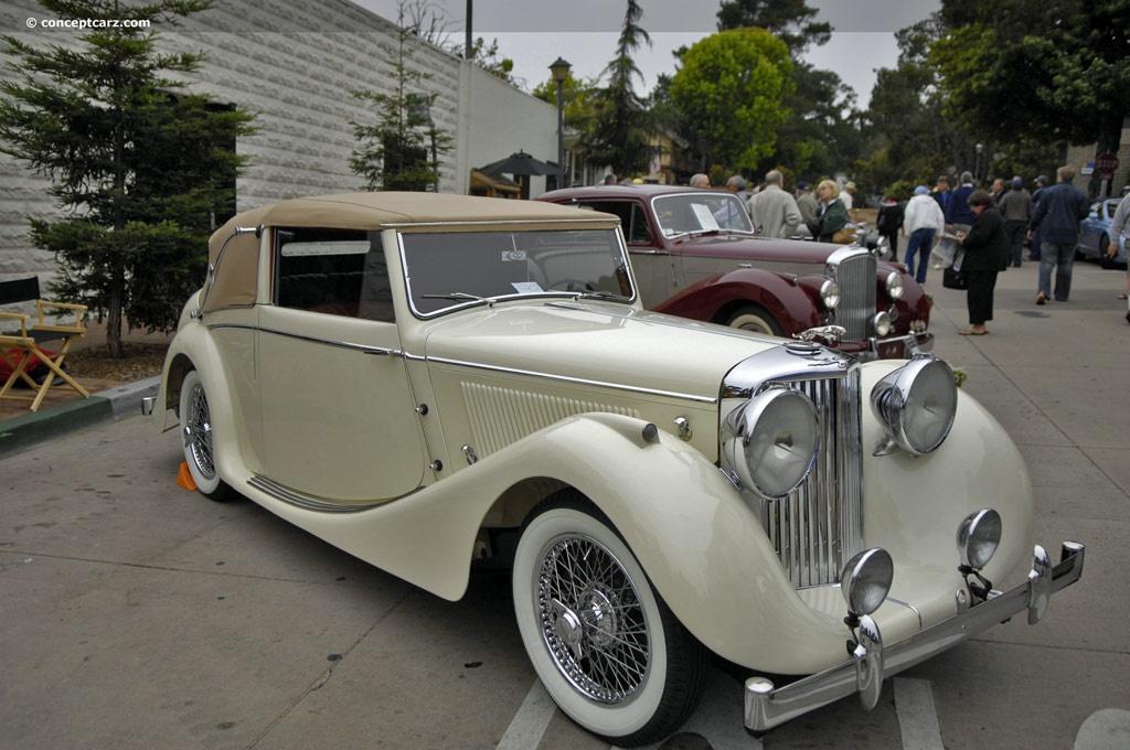 1947 Jaguar Mark IV History, Pictures, Value, Auction ...
