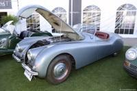 1950 Jaguar XK-120.  Chassis number 670405