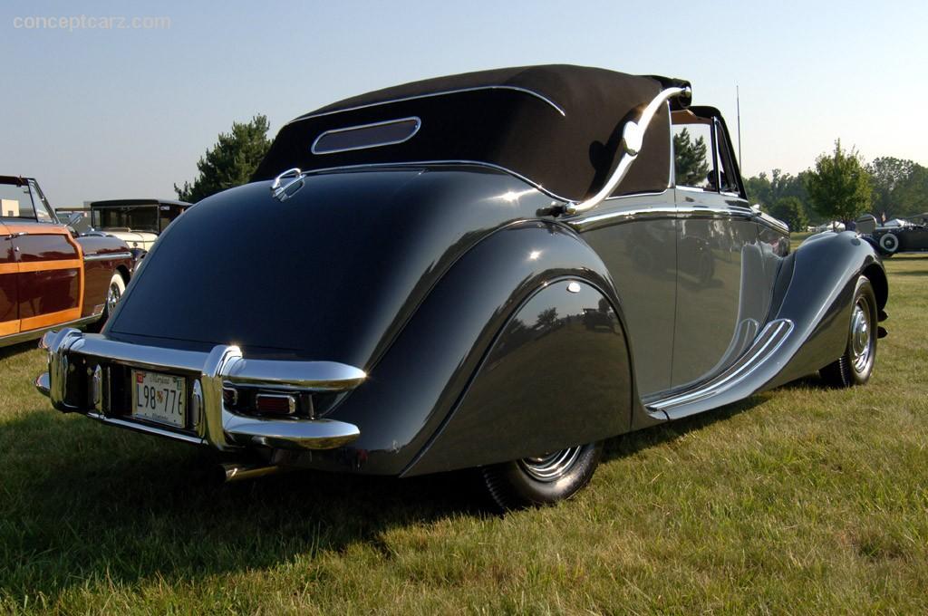 1950 Jaguar Mark V Image. Photo 98 of 107