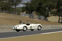 1952 Jaguar XK 120.  Chassis number 672911