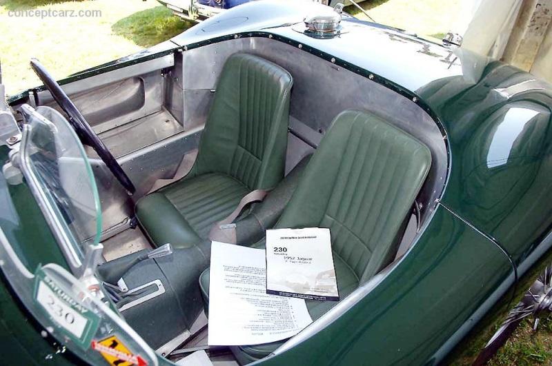 1952 Jaguar C-Type Chassis XKC055