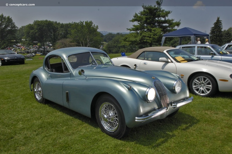 Marvelous 1953 Jaguar XK120