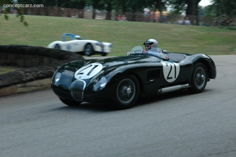 1953 Jaguar C Type Image Chassis Number Xkc 050