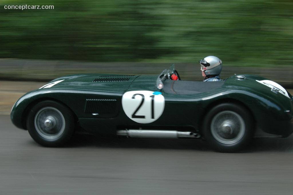 1953 Jaguar C Type Image Chassis Number Xkc 050