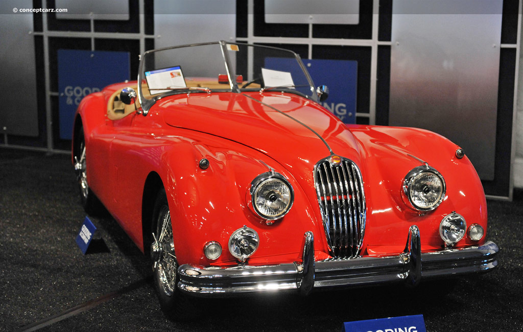 1954 Jaguar XK140 Image. Chassis number S810337. Photo 3 of 9