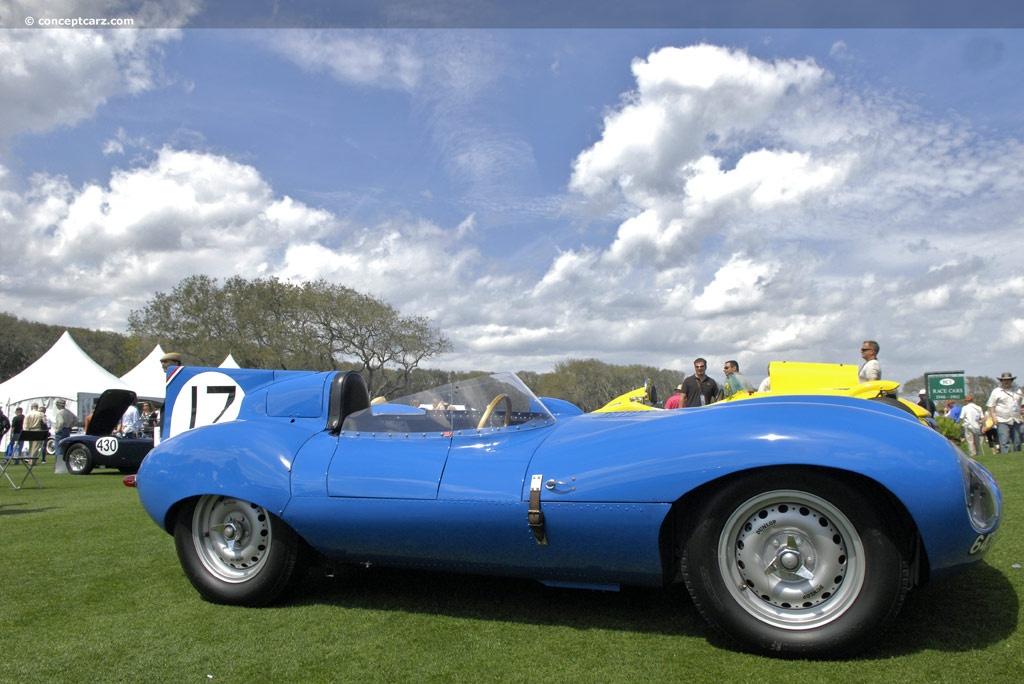 1955 Jaguar XK-D D-Type at the Amelia Island Concours d ...