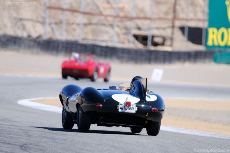 1955 Jaguar XK-D D-Type