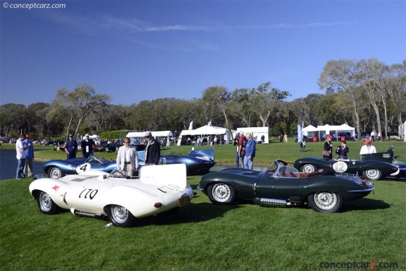 1956 Jaguar XK-D D-Type