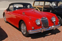 1959 Jaguar XK150.  Chassis number T831686DN