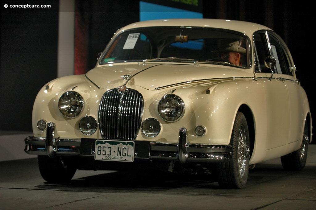 1960 Jaguar MK II (Mark 2, 3.8, Mk2, 3.8-Liter) - Conceptcarz