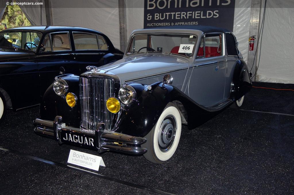 Auction Results and Sales Data for 1950 Jaguar Mark V