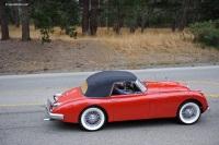 1961 Jaguar XK150.  Chassis number S838766DN