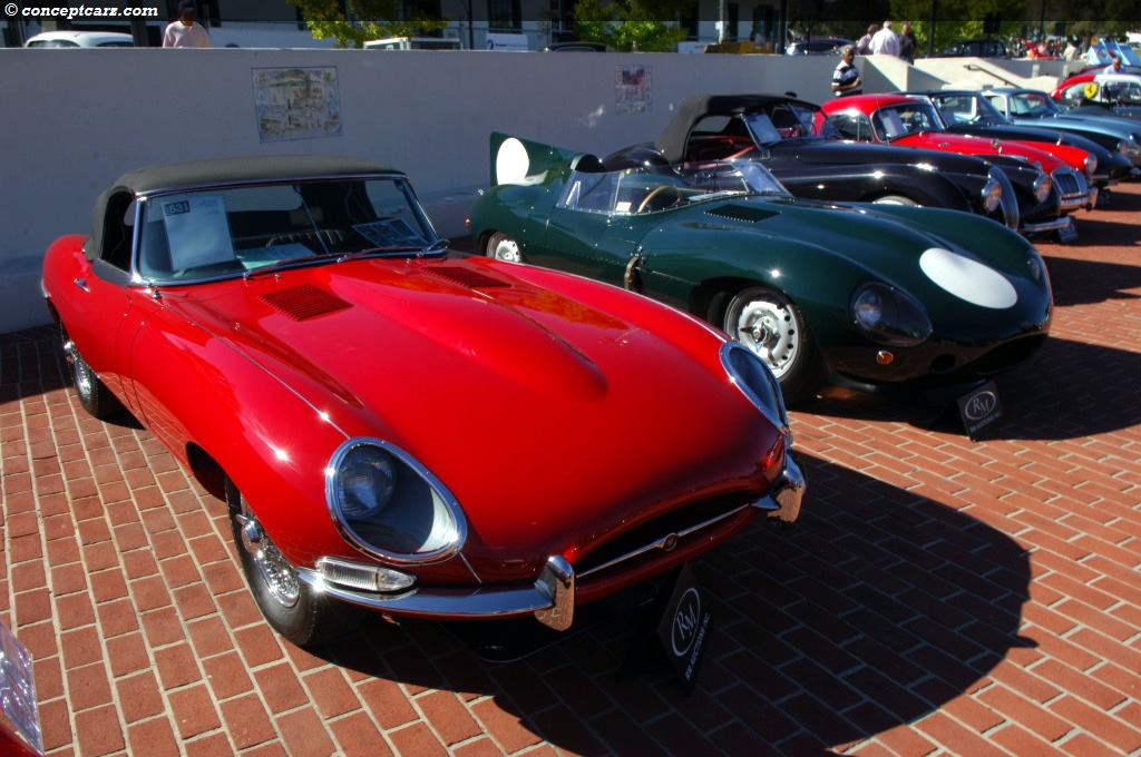 1967 Jaguar Xke E Type At The Monterey Sports And Classic Car Auction