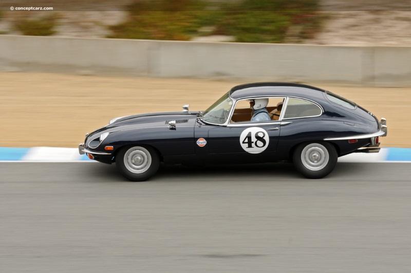 1970 Jaguar XKE E Type Fixed Head Coupe Vehicle Profile