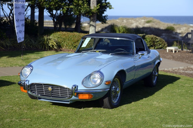 1972 Jaguar XKE E Type Convertible / UC1S 20621 Chassis Information