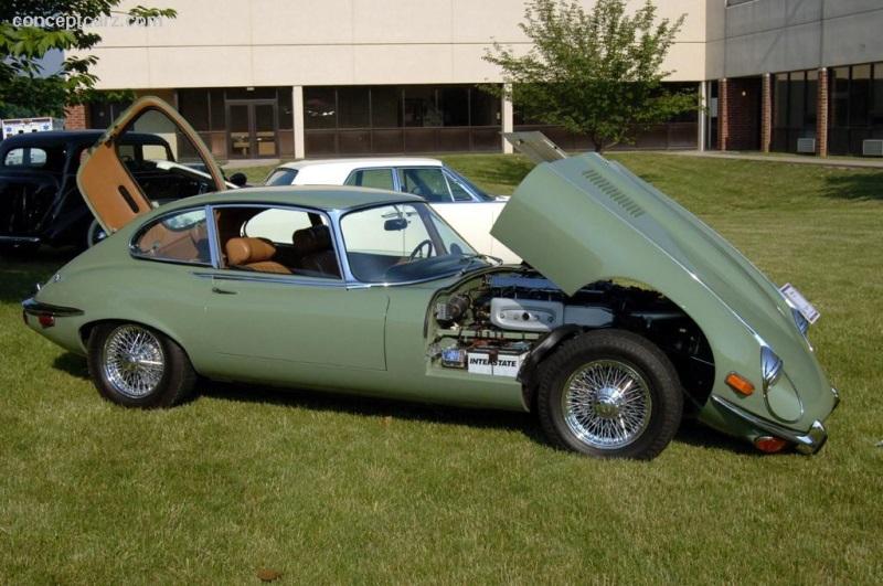 Superb 1972 Jaguar XKE E Type