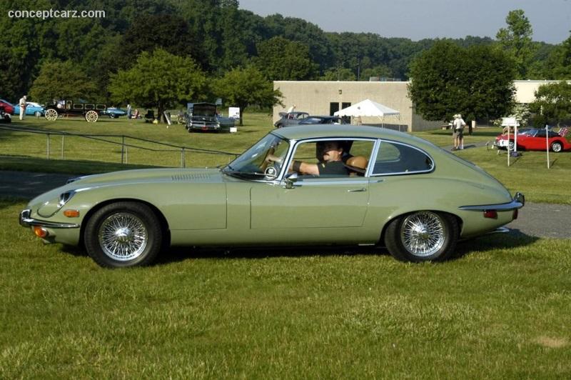 Beautiful 1972 Jaguar XKE E Type