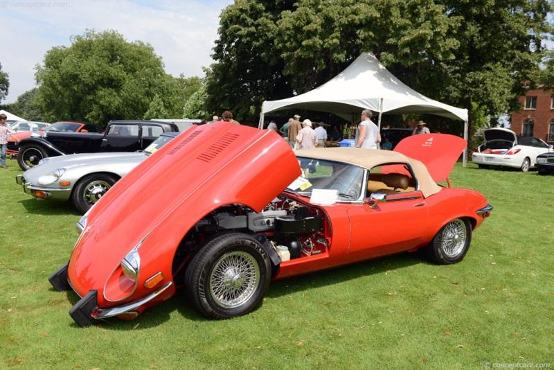 Captivating 1974 Jaguar XKE E Type
