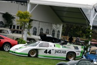 1982 Jaguar XJR.  Chassis number 001