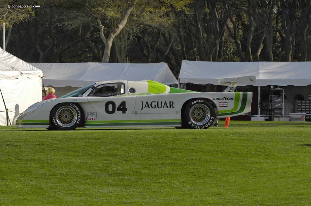 1985 Jaguar XJR-7 Image. Chassis number 001