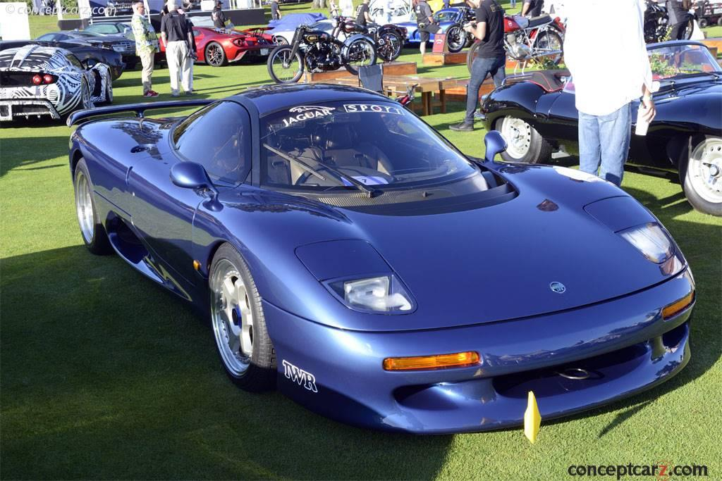 1991 Jaguar XJR-15 | conceptcarz.com