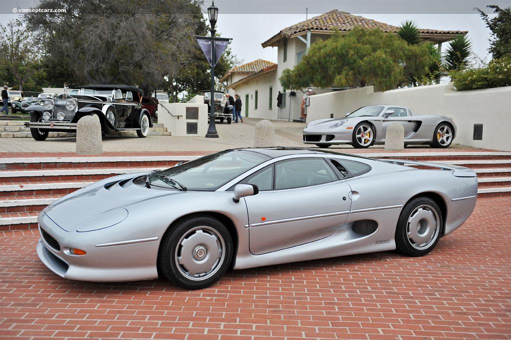 1993 Jaguar Xj220 At The Rm Auctions At Monterey