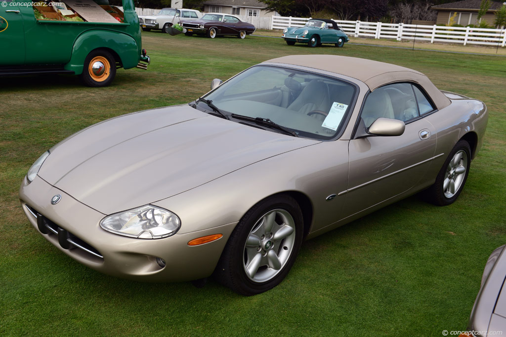 1997 jaguar xk8 history pictures sales value research. Black Bedroom Furniture Sets. Home Design Ideas