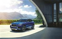 Jaguar F-Pace Monthly Vehicle Sales