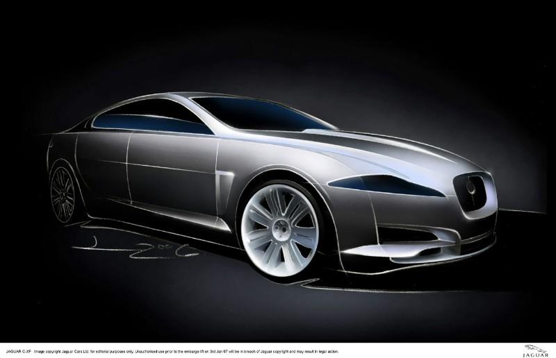 2007 Jaguar C-XF Concept