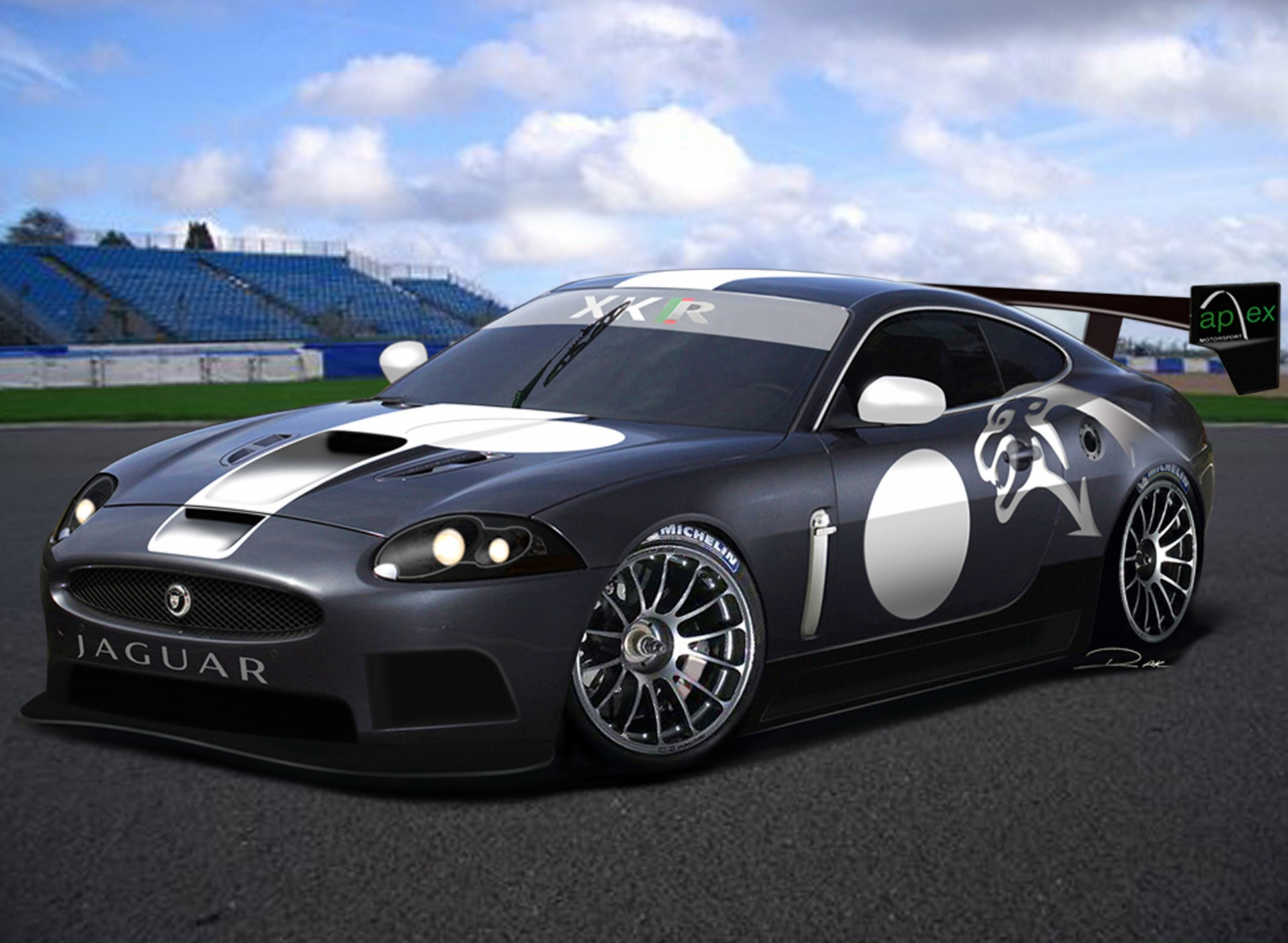 2007 Jaguar Xkr Gt3 History Pictures Sales Value