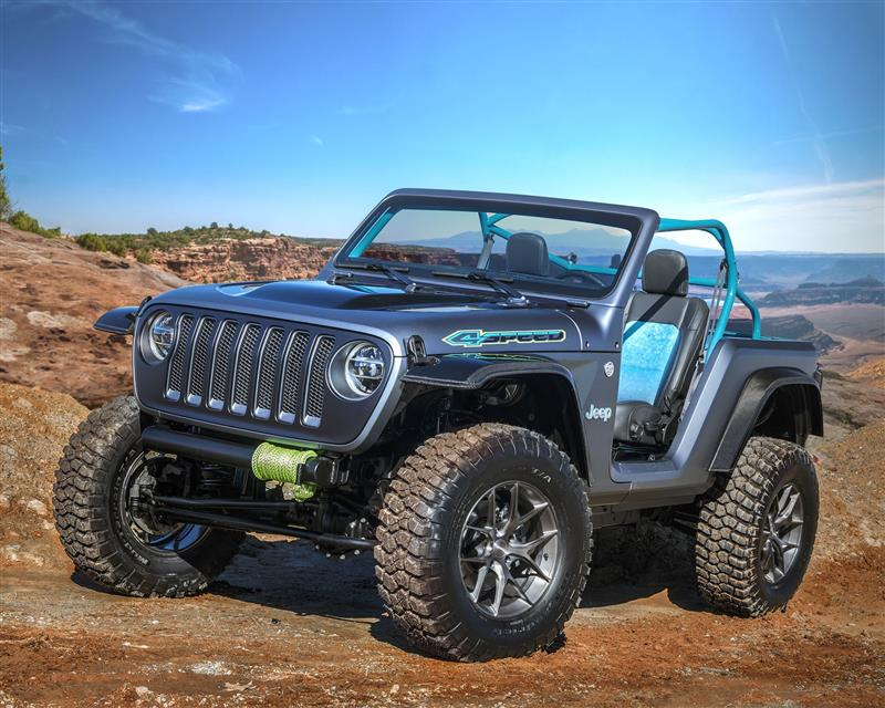 2018 Jeep 4SPEED Concept