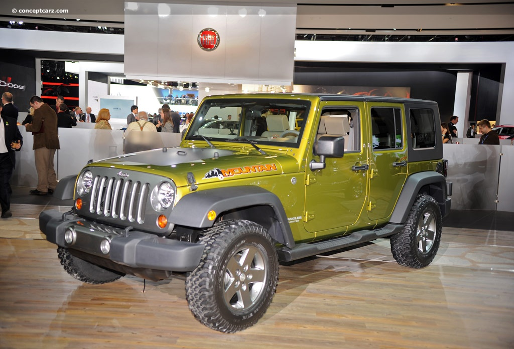 2010 Jeep Wrangler Unlimited Mountain Edition Image Https