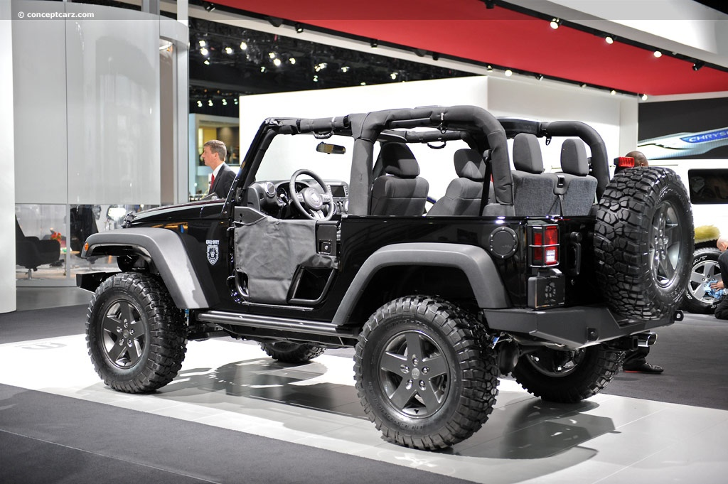 2011 Jeep Wrangler Black Ops Edition Image. Photo 11 of 16