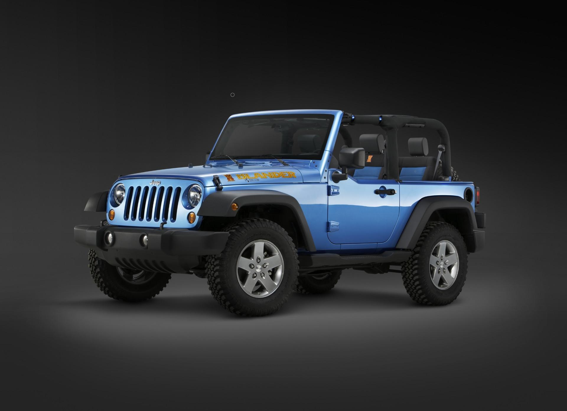 2010 Jeep Wrangler Islander Edition News and Information